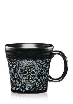 Fiesta  Skull And Vine Tapered Mug - Matte Black - One Size
