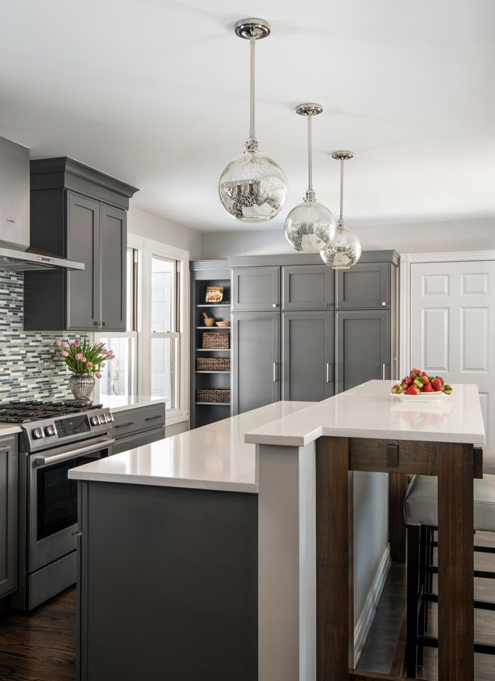Transitional Kitchen Remodel in Troy, MI | MainStreet Design Build ...