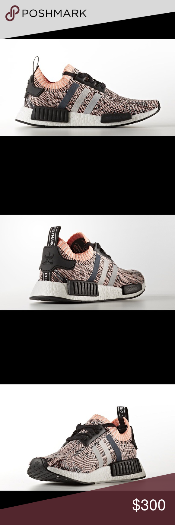 4430a4757 Adidas NMD R1 Primeknit Sun Glow Pink BB2361 Shoes Up for sale is a brand  new