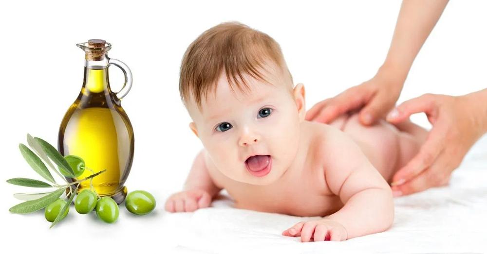 علاج الامساك عند الاطفال الرضع بزيت الزيتون Baby Olive Baby Massage Hair Oil