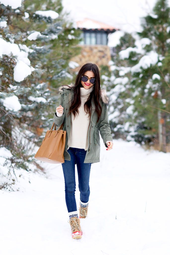 Snow Day Layers... - Rach Parcell