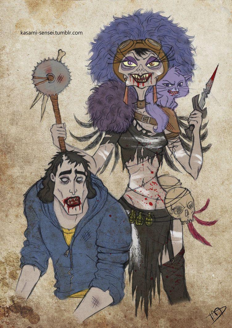 The walking disney yzma and kronk by kasami sensei disney crossovers pinterest disney - Kuzco dessin anime ...