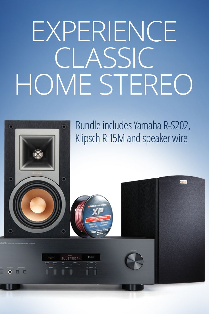 Yamaha R-S202/Klipsch R-15M Bundle -Need help finding a great ...