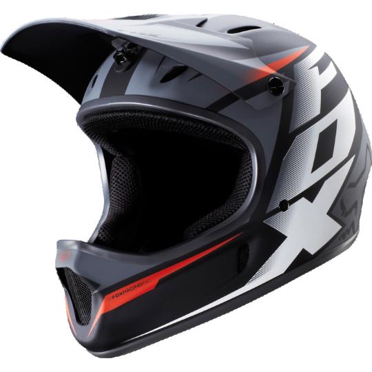 Fox Rampage Full Face Helmet For Bmx Mtb Downhill Mountain Bike Gloves Bmx Helmets Bmx