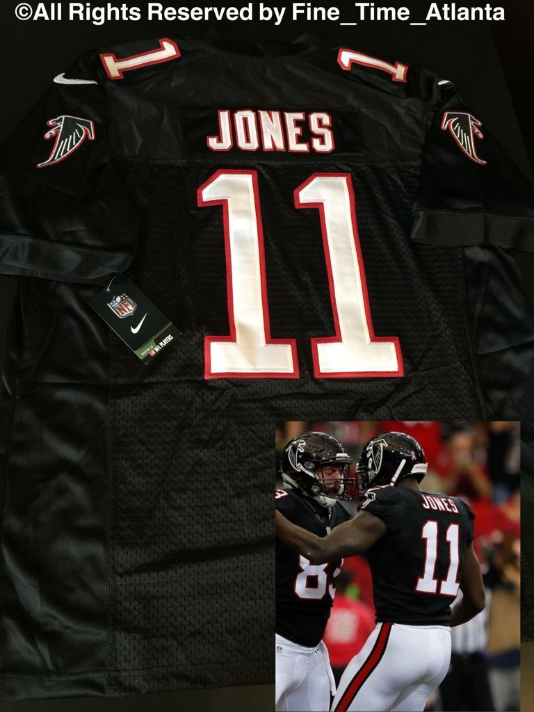 Julio Jones Atlanta Falcons 11 Black 3rd Color Alternate Men S Onfield Jersey Atlanta Falcons Atlanta Falcons Rise Up