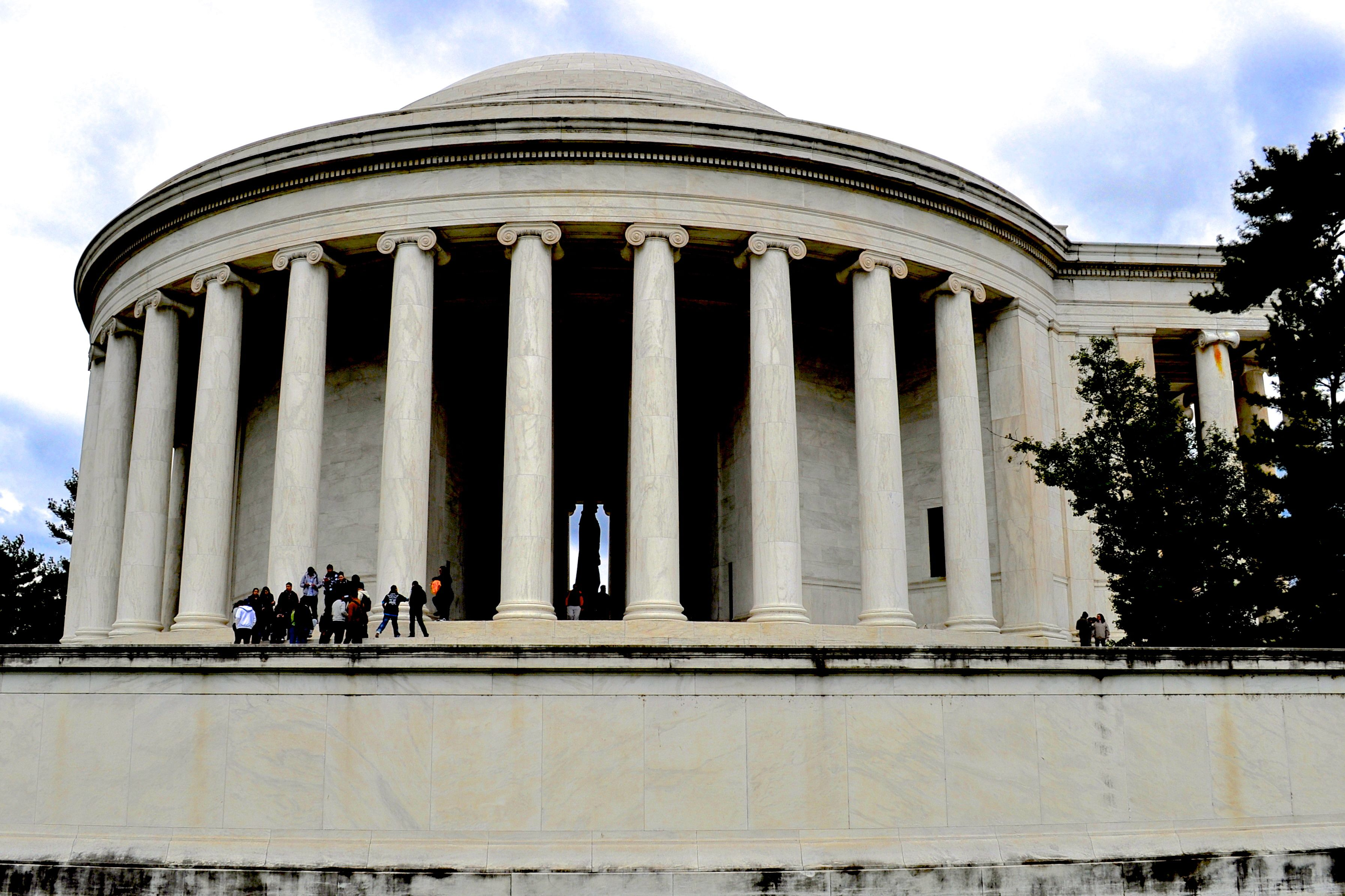 Thomas Jefferson Memorial Side View 1 - Johnson-Miles photo