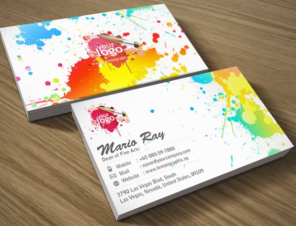 30 Colorful Business Card Design Examples For Your Inspiration Business Cards Creative Colorful Business Card Business Card Design Creative