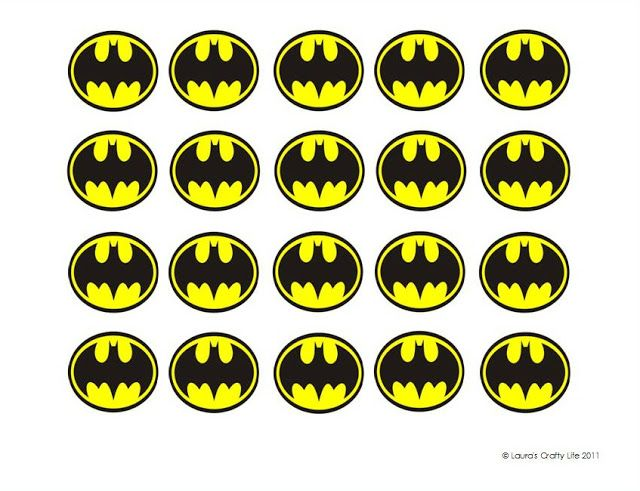 photograph about Batman Cupcake Toppers Printable known as Batman Cupcake Liners (and a cost-free printable Reward Designs