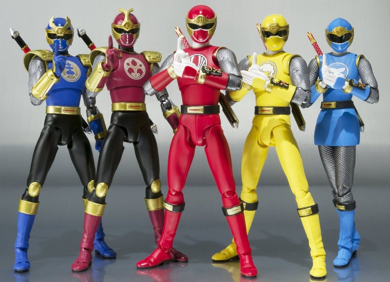 Coming this winter, it\'s the completion of the SH Figuarts Power ...