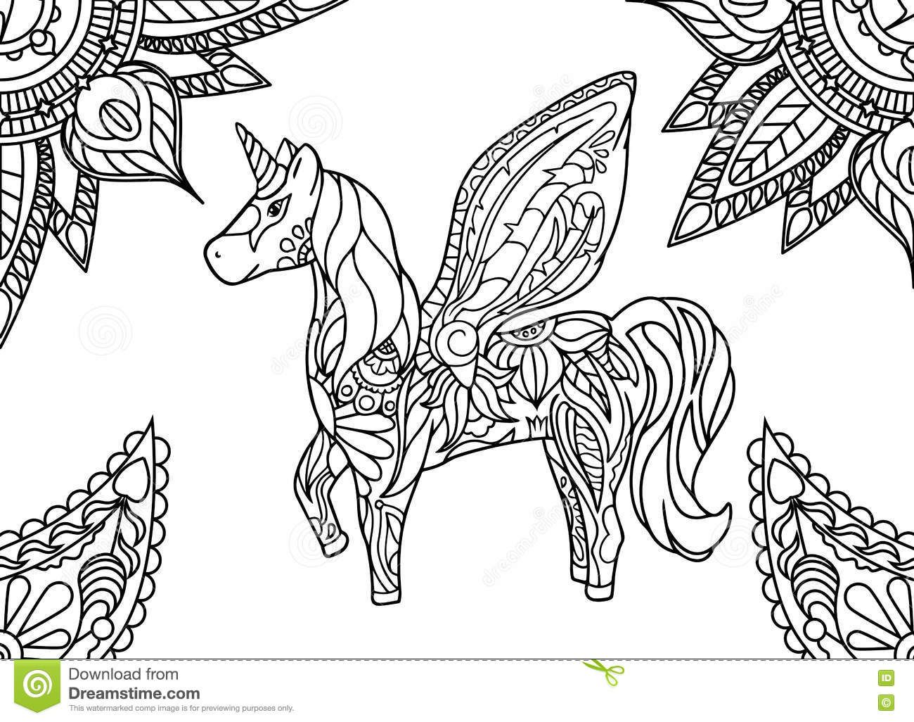 Pin By Cintia Daflon On Coloring Horse Zebra Horse Coloring Pages Unicorn Coloring Pages Mandala Coloring Pages