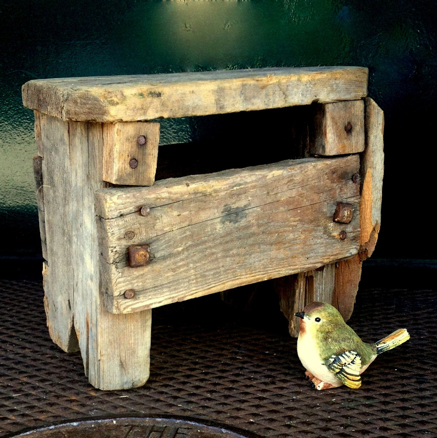 The Best Rustic Old Stool Ever Farm Stool Step Stool