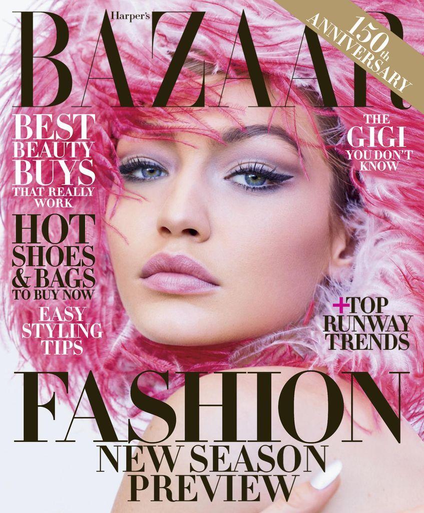 Harper's Bazaar Back Issue June/July 2017 (Digital) -   22 beauty Editorial harpers bazaar ideas