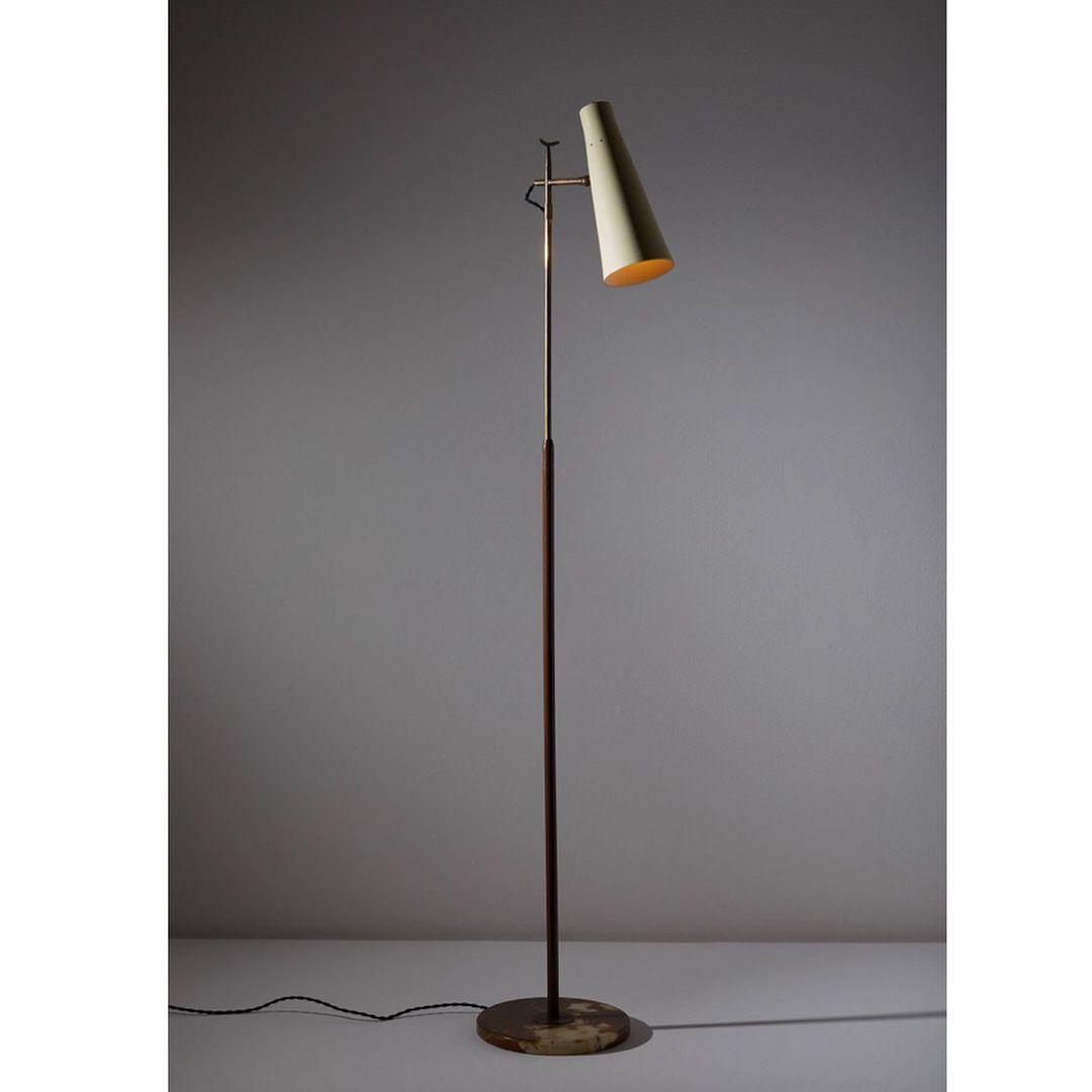 Giuseppe Ostuni For Oluce Floor Lamp Made In Italy Circa 1950s Rewireinventory Lamp Floor Lamp Ostuni