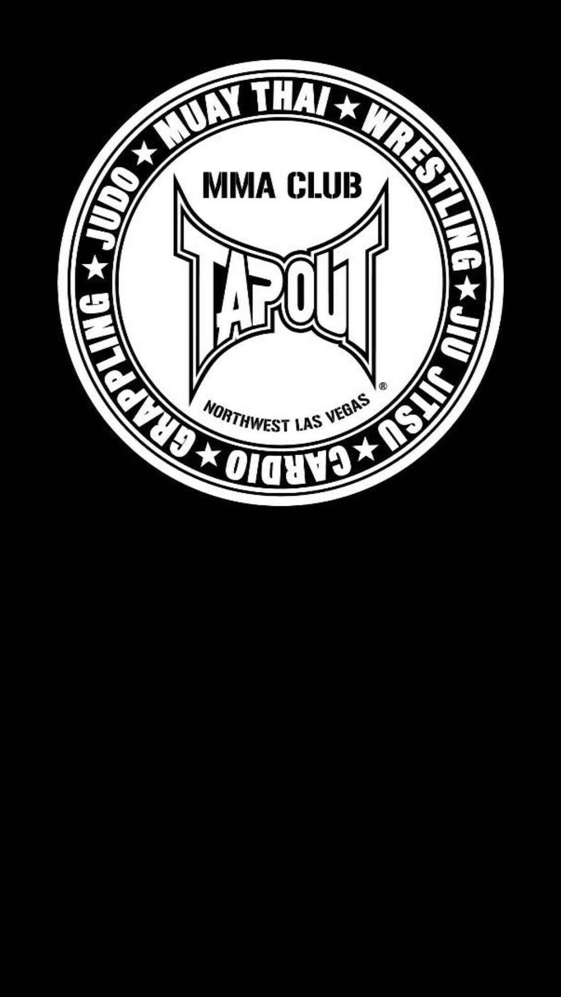 Tapout Black Wallpaper Android Iphone Imagenes Pinterest [ 1965 x 1107 Pixel ]
