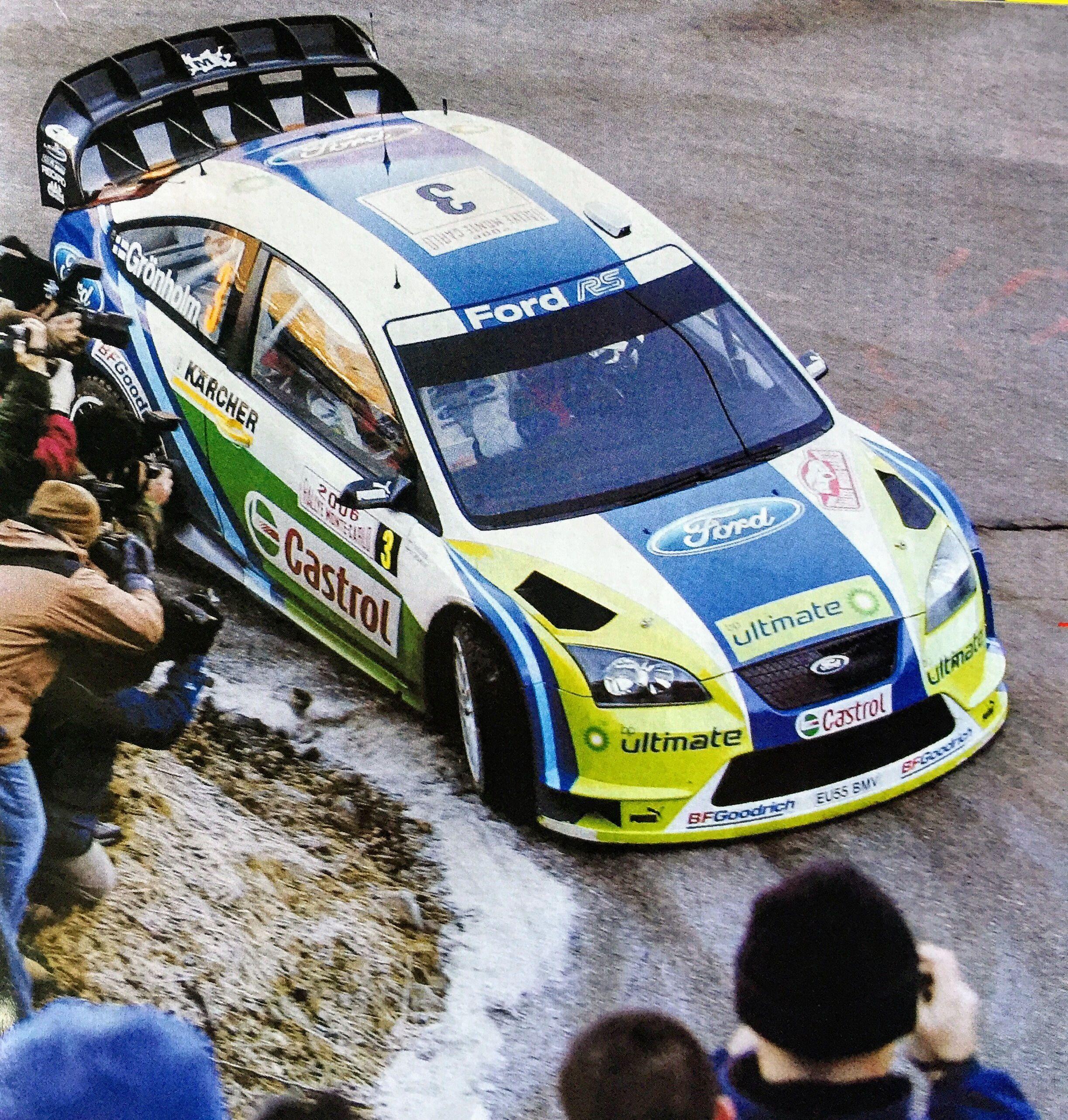 Ford Focus Rs Wrc 06 Gronholm Rautianen Rally Montecarlo 2006