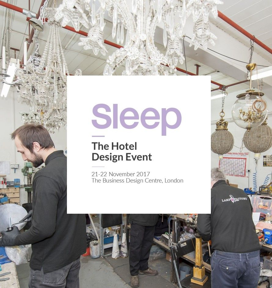 The Lamp Factory, London will be exhibiting at the Sleep Event ...