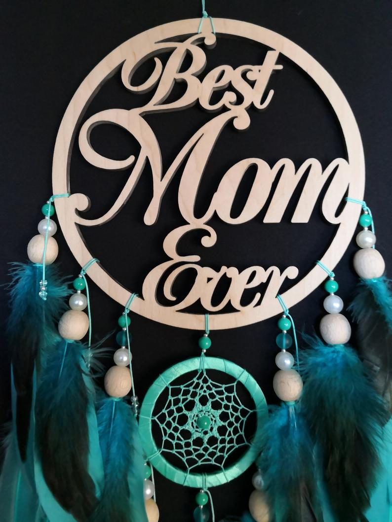 mother in law gift personalized sky dream catcher gift wife mom birthday gift from daughter Mom gift dreamcatcher Blue Dream catcher