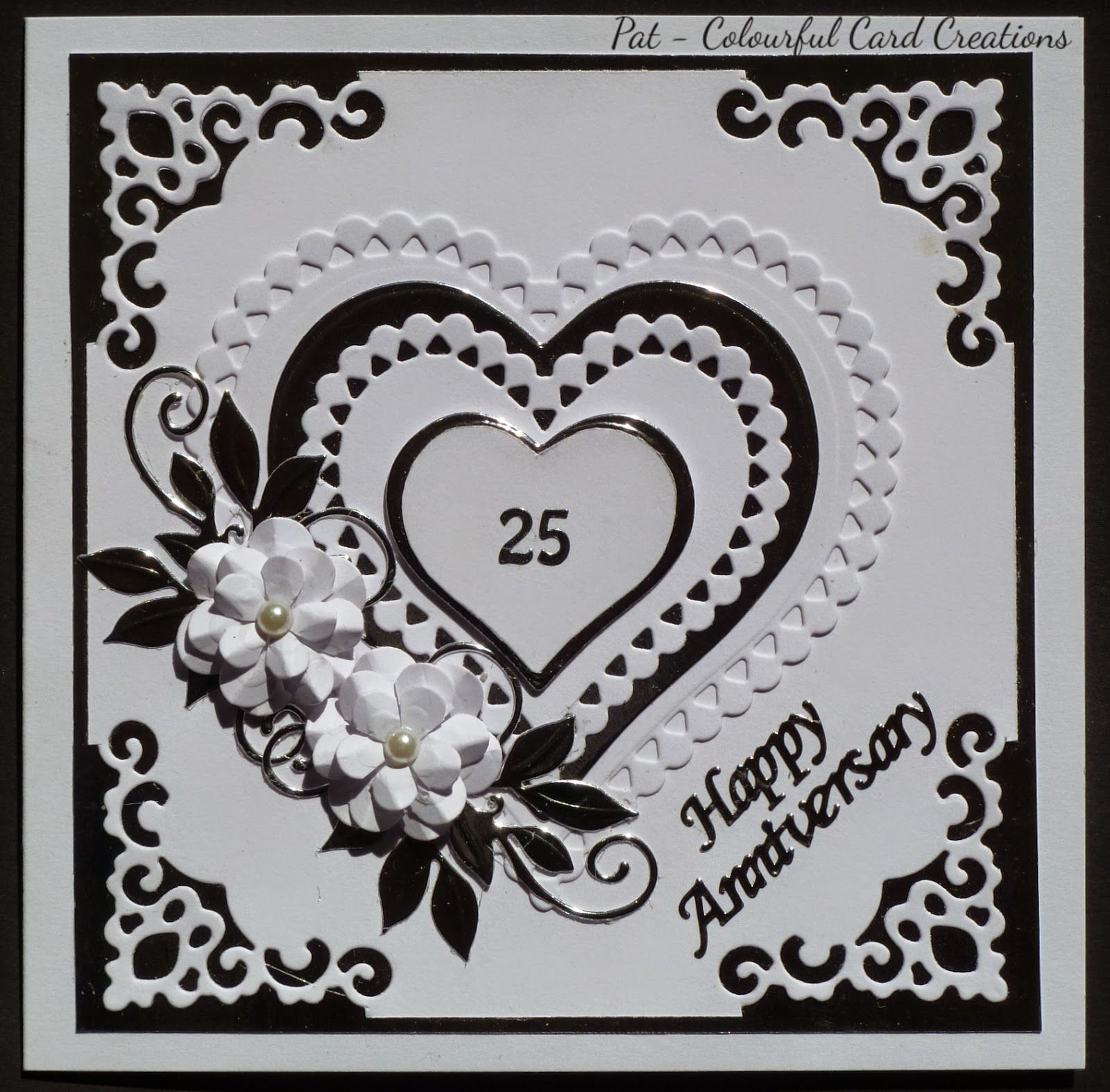 Card Making Ideas Silver Wedding Part - 34: Welcome To My World Of Cardmaking And Papercraft.
