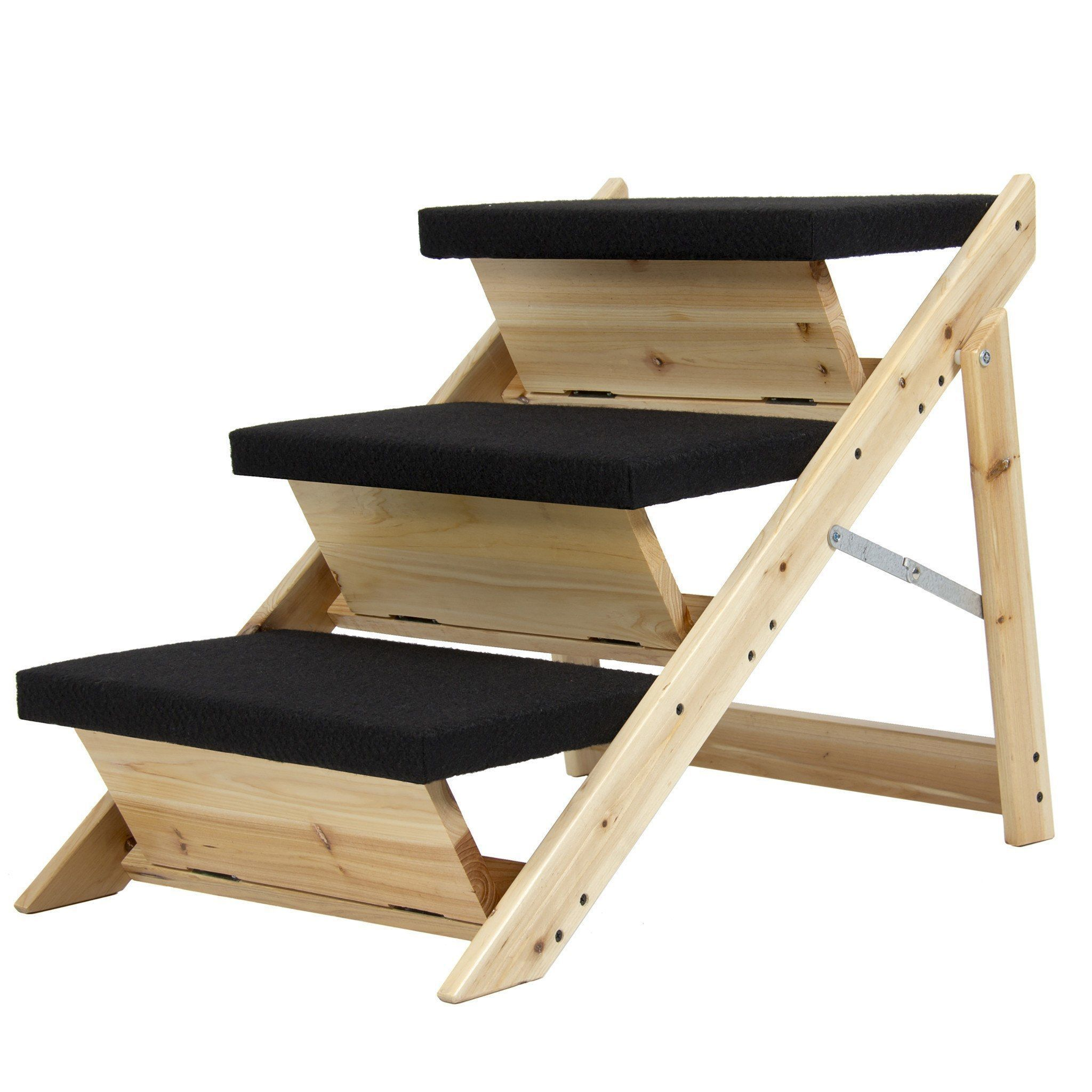 Folding 2 In 1 Pet Ramp Amp Stairs For Dogs Cats Pet Steps