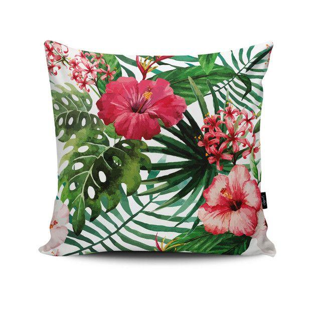 Poduszka Jungle Flowers Tropikalne Kwiaty House Poduszki