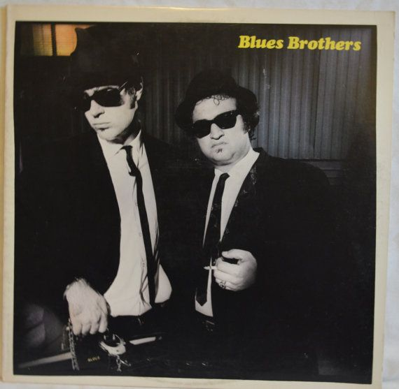 Vintage Soundtrack Record Blues Brothers Album By Floridafinders 10 00 Blues Brothers Blues Music Album Covers