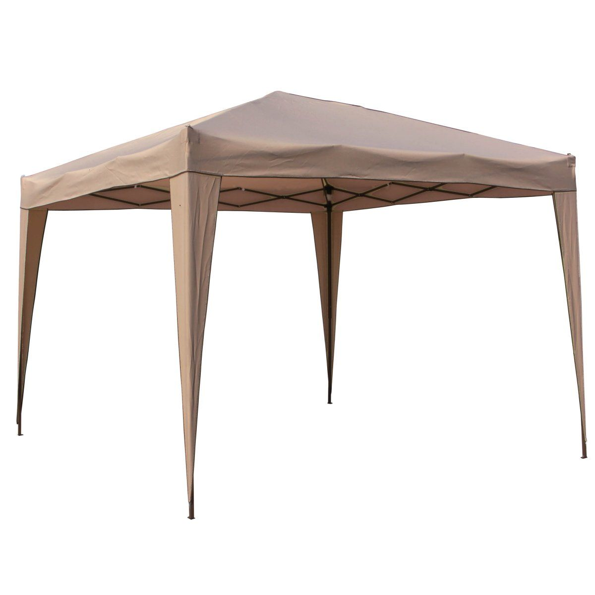 Hamilton 3 Meter Steel Folding Outdoor Gazebo with Black Carry Bag