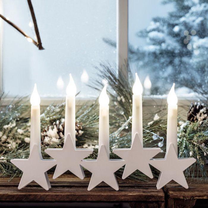 ▷ 1001 + Ideen für bezaubernde Fensterdeko zu Weihnachten ...