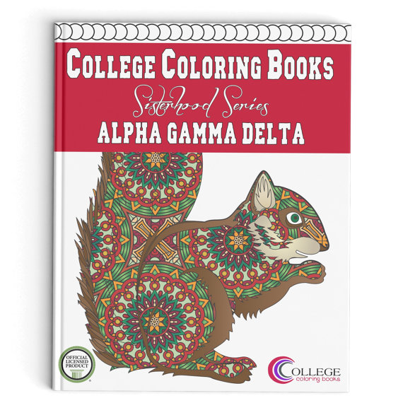 Show Your Beautiful Alpha Gamma Delta Colors In A Whole New Way With The First