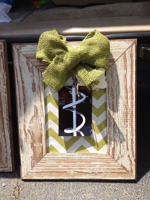 Alphabet Barn Wood One Letter Frame/8x10/framed name art/Chevron/framed alphabet photography/mat on Etsy, $32.00