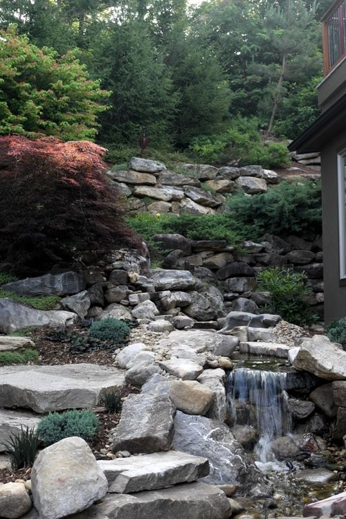 Waterfalls Ponds Streams Fountains Water Features Fountains Garden Stones