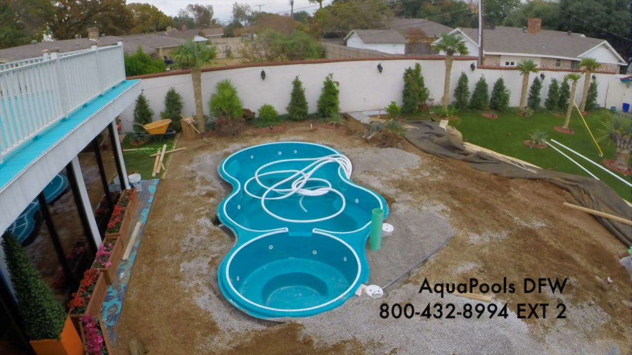 Aquamarine Pools Fiberglass Pool Install Fiberglass Swimming Pools Aqua Pools Inground Fiberglass Pools