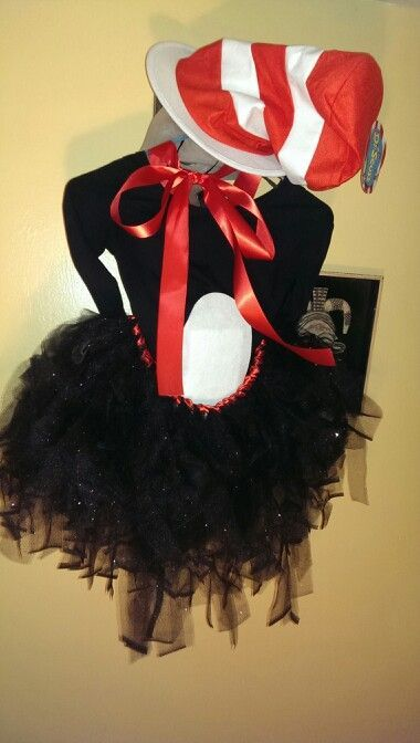 diy cat in the hat womens costume costumes pinterest