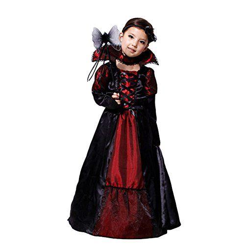 Quatang Gallery- Deguisement Enfant Costume Halloween Fille Vampire Comtesse M Amurleopard Http Www Amazon Fr Dp B015 Robe Vampire Costume Halloween Costume D Halloween Fille