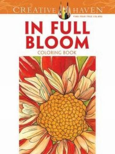 Creative Haven In Full Bloom Coloring Book Colorists And Gardening Enthusiasts Will Adore These Magnified Views