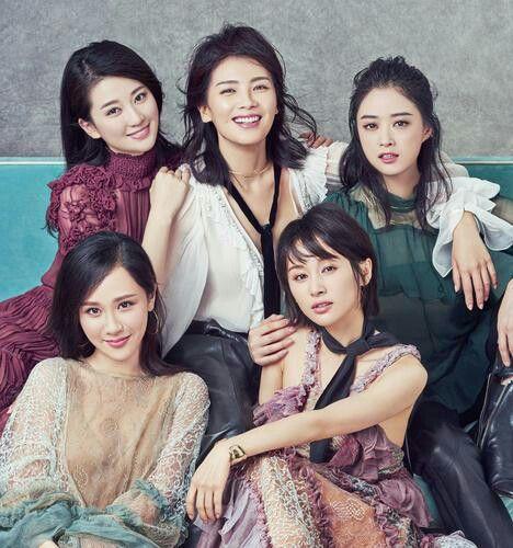 Elle magazine ode to joy chinese drama liu tao olivia ziwen wang