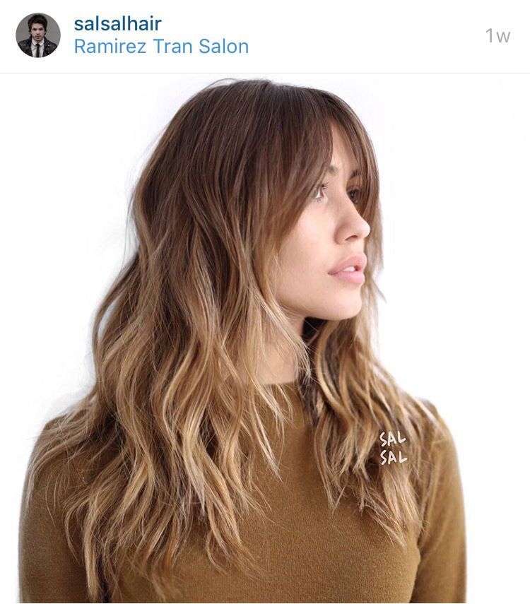 Modern Shag Long Hair Styles