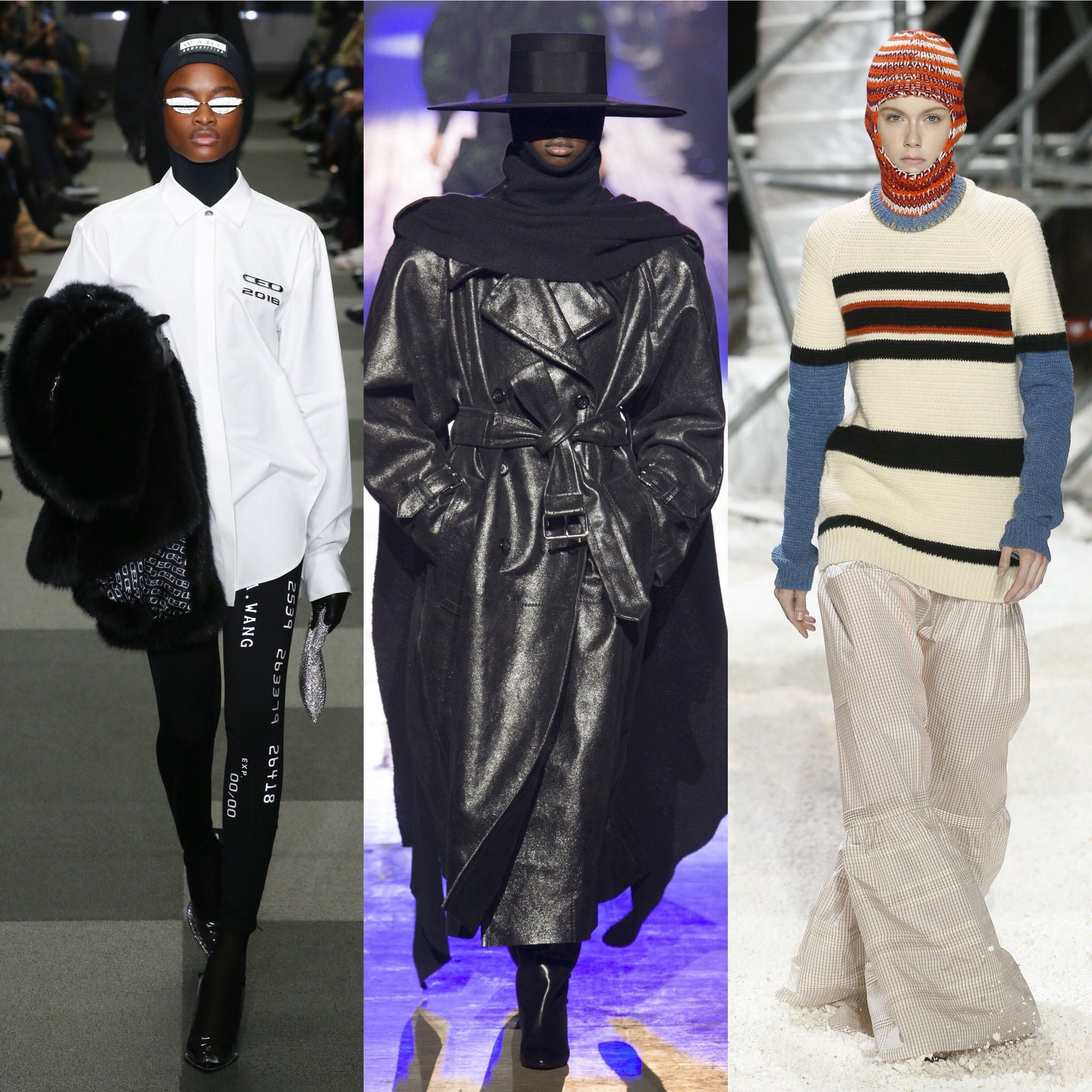 size 40 25cd4 ab581 New York Fashion Week Fall Winter 2018 Women s Trend Report   SSENSE