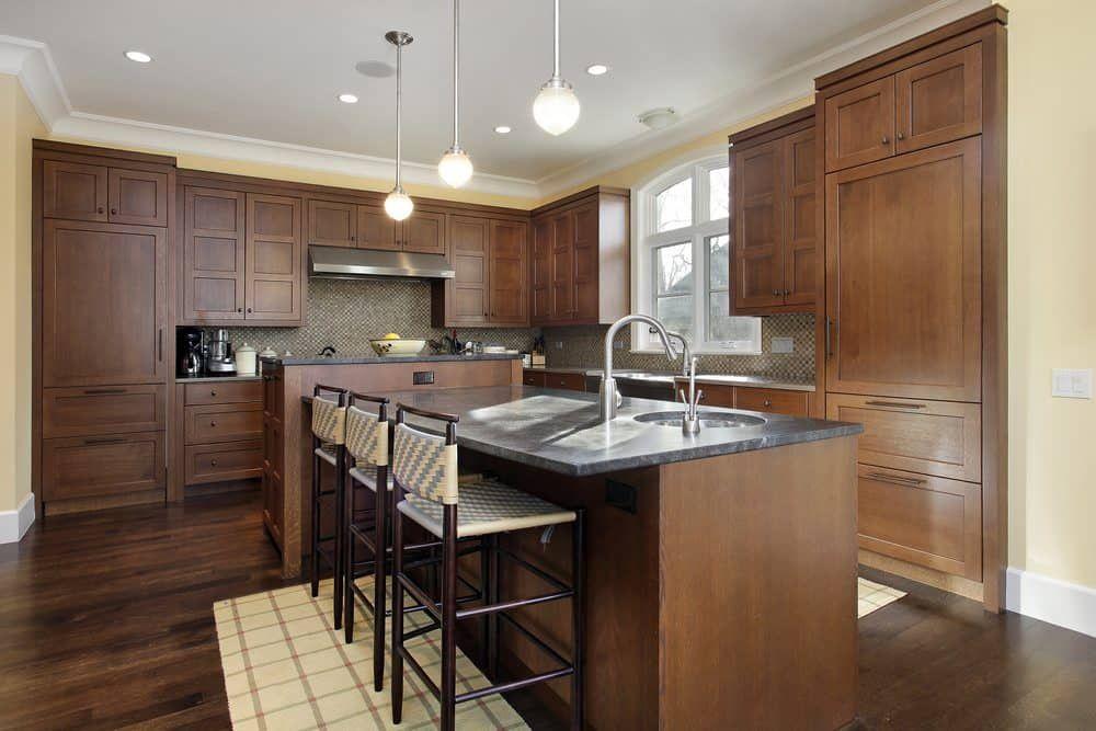 Ideale L Förmige Küche Layout #Küchenzeile Wenn es um eine Insel ...