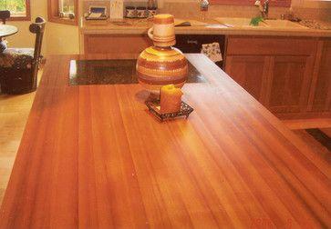 Reclaimed Douglas Fir Countertops Modern Kitchen Countertops