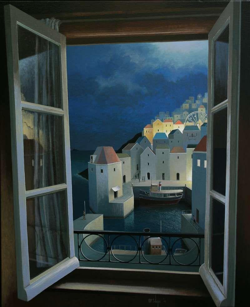 Michiel Schrijver Entrance To The Night 110 X 90 Cm