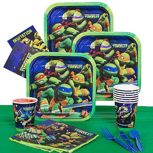 Teenage Mutant Ninja Turtles Party Pack Supplies Walmart