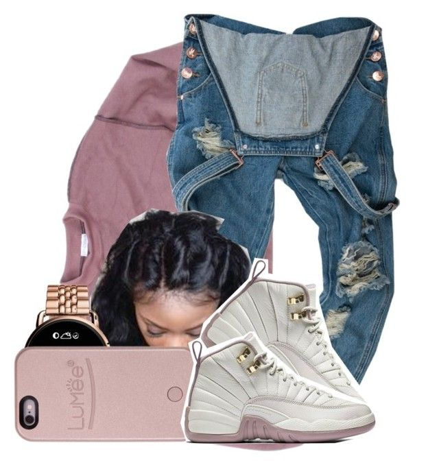 """""""108"""" by jalay ❤ liked on Polyvore featuring OneTeaspoon, FOSSIL and LuMee"""