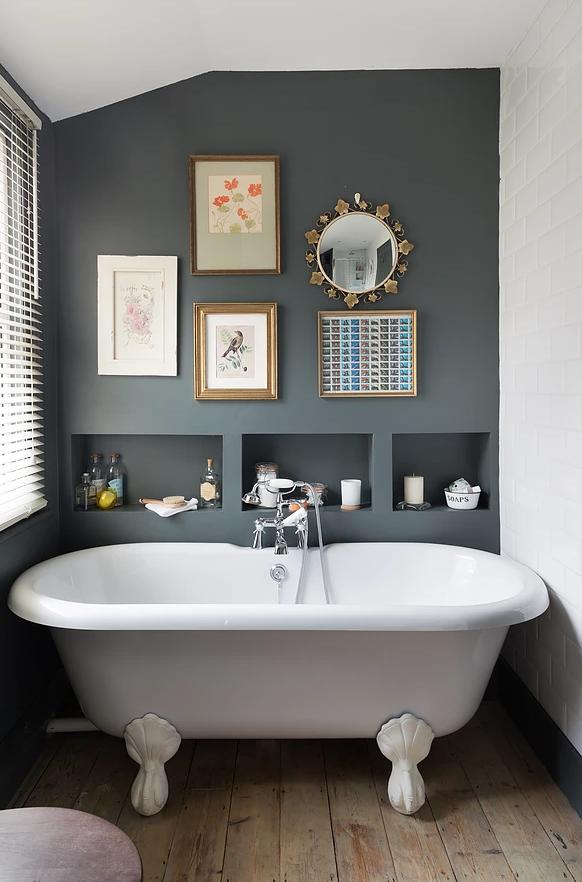 Sauder Caraway Etagere Bath Cabinet Soft White Finish Bathroom Color Schemes Bathroom Styling Best Bathroom Colors