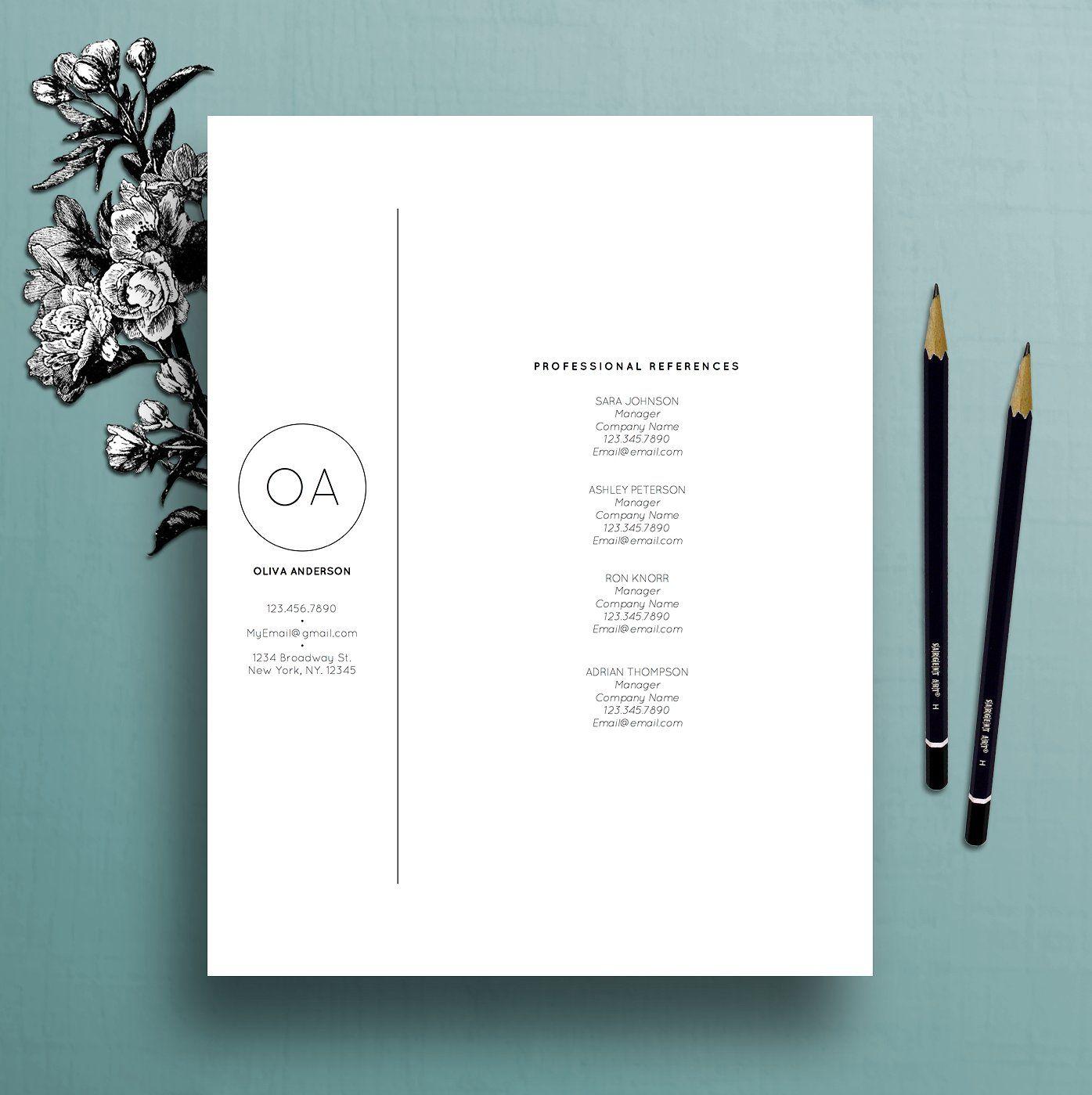 Resume Template / CV Cover Letter spendsrecruiter