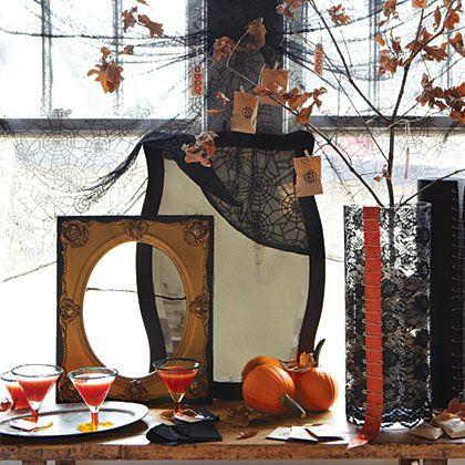 10 Memorable Halloween Menus from Gooseberry Patch Halloween menu - how to decorate for halloween party