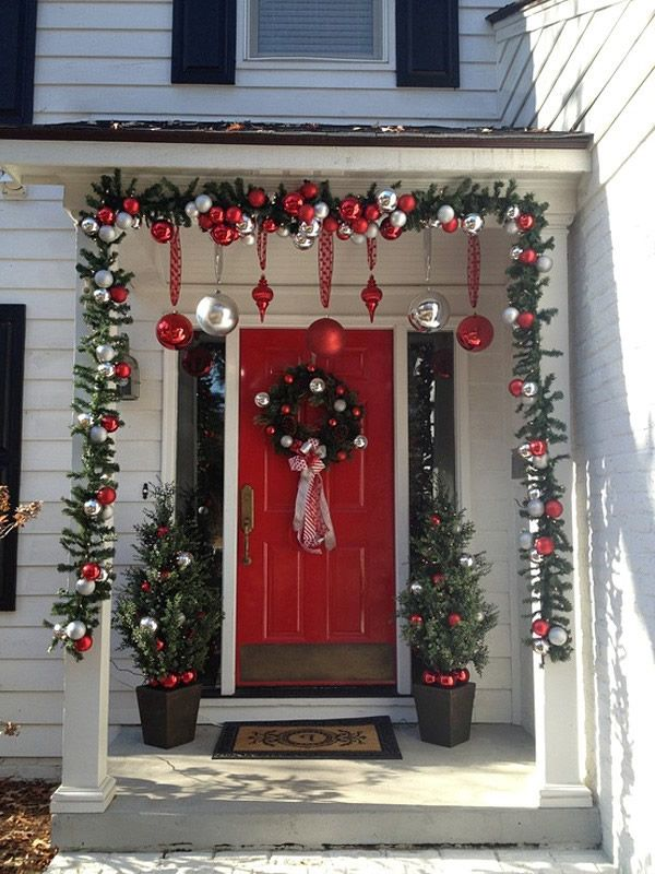 christmas decorating ideas front porch best kitchen designs lively within christmas decorating ideas for the kitchen - Christmas Front Porch Decorations Pinterest