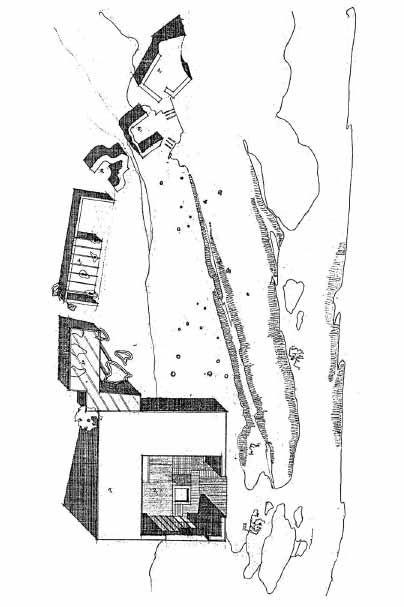 Aalto Muuratsalo experimental house| draw shadow/material