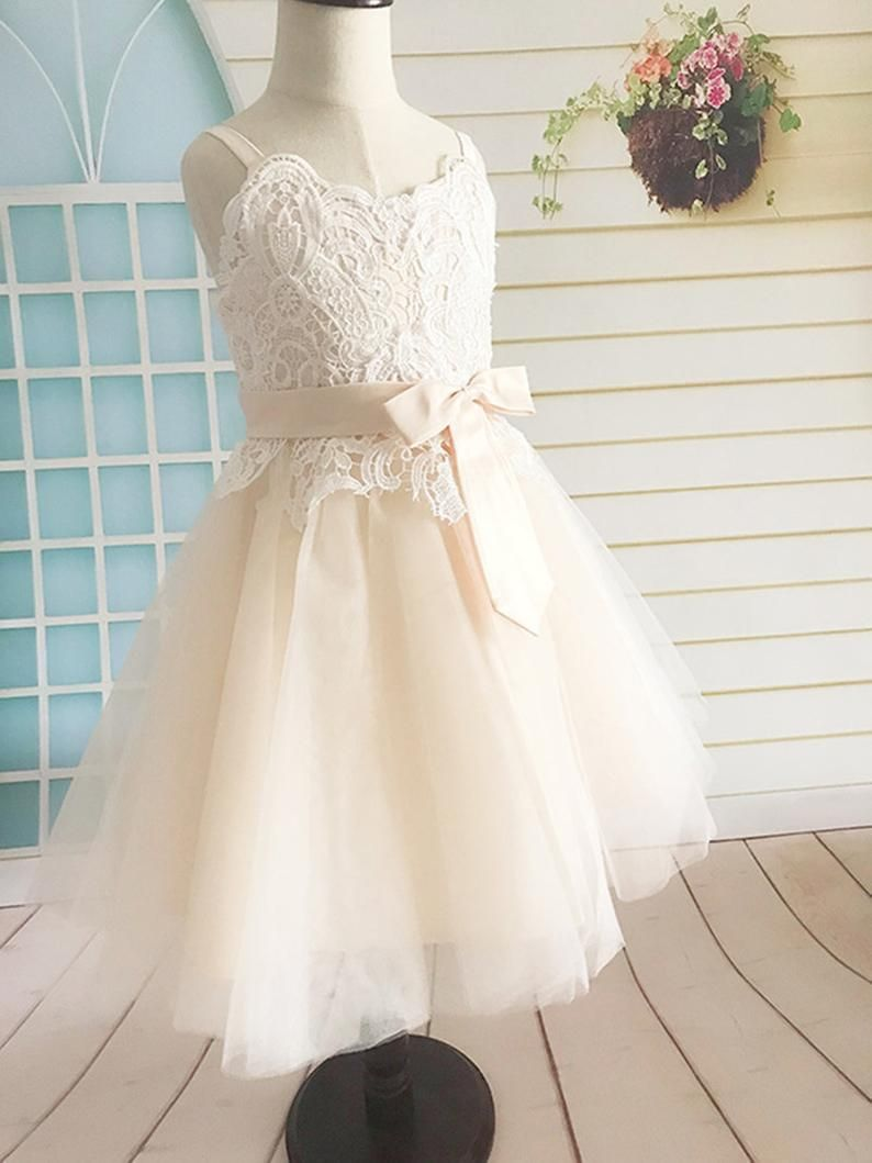 a15fc7909f7 Find More Flower Girl Dresses Information about Lace Flower Girl Dress