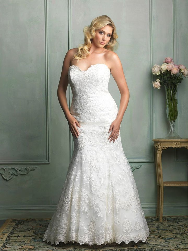 dreamy lace gown