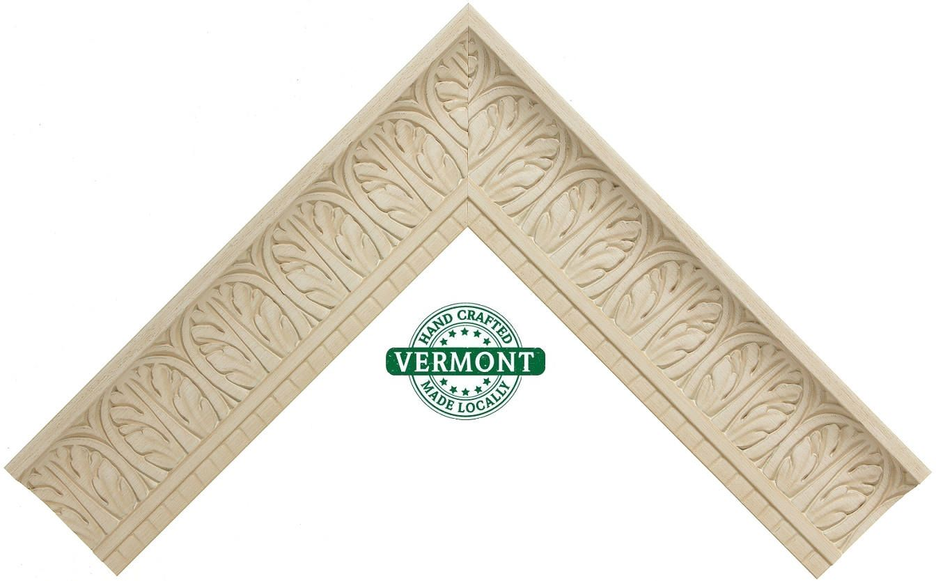 Wide Ornate White Picture Frame, Roma Moulding, 16x20, 18x24, 23x27 ...